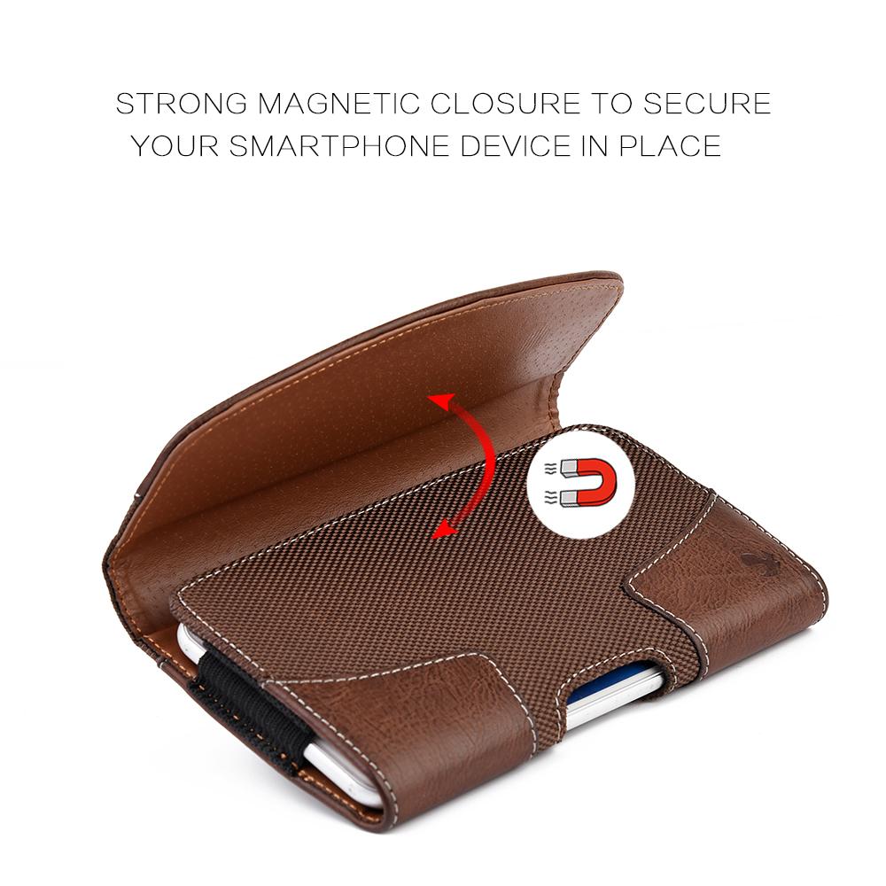 Leather Belt pouchphone casepouchwallet  organiser