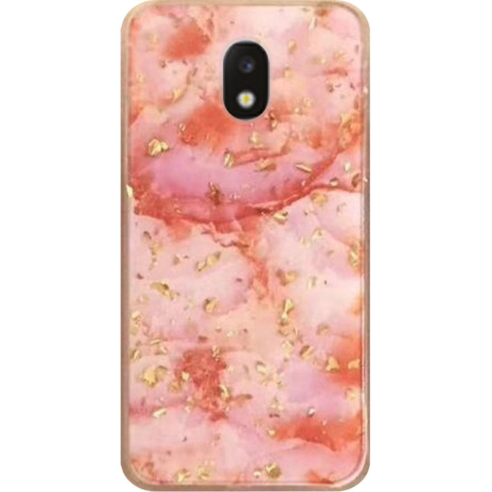 huge selection of 7e929 462d7 Samsung Galaxy J7 Crown - Marble Glitter Case - Pink