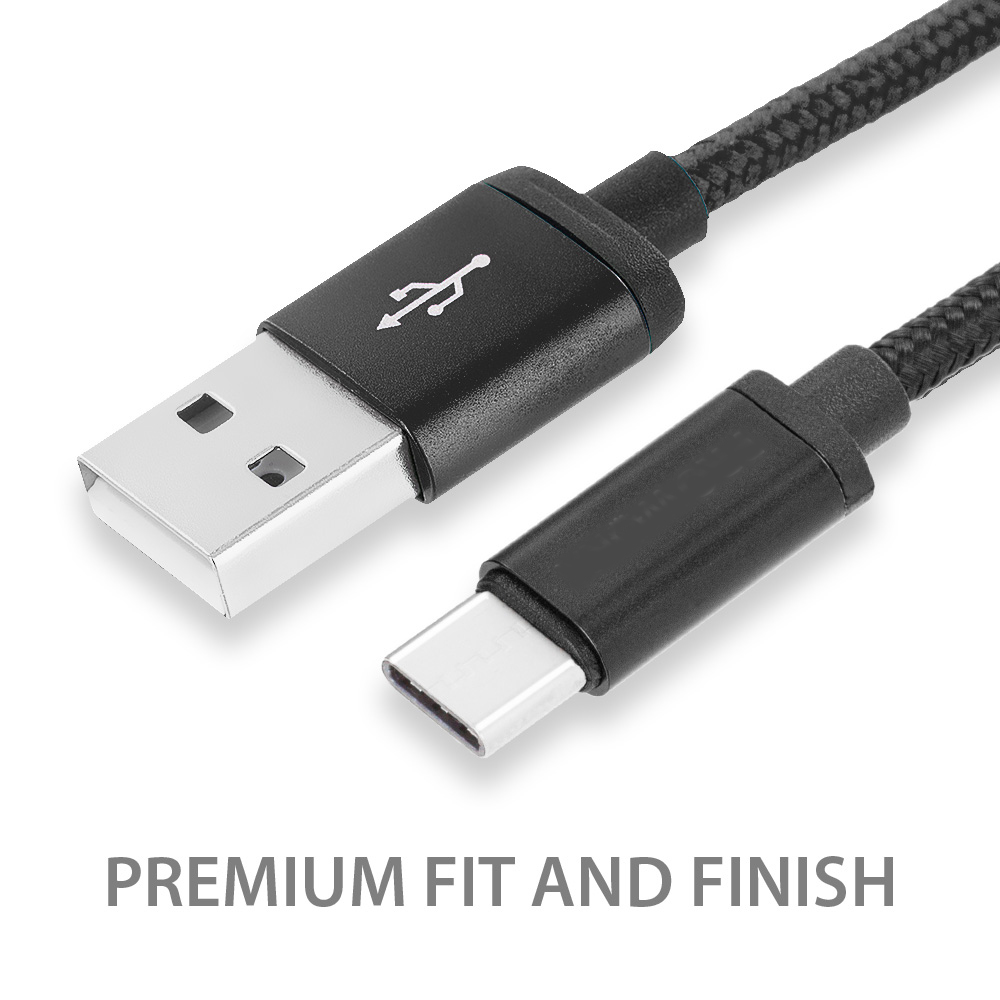 3-Pack-USB-Type-C-Cable-3FT-Charging-Charger-3-Feet-For-TYPE-C-Phones-Tablets thumbnail 12
