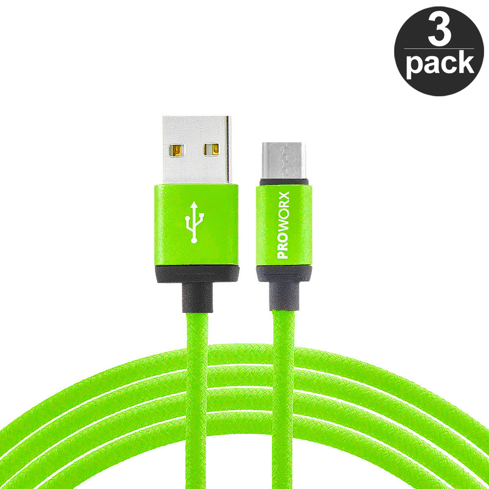 USB-Type-C-Cable-3FT-Charging-Charger-3-PACK-For-USB-C-Phones thumbnail 44