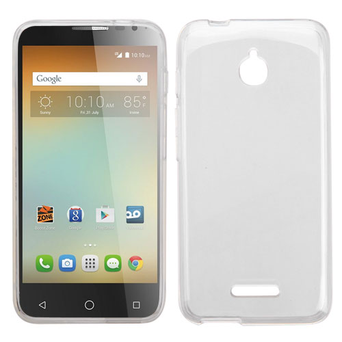 hot sale online 3e833 a0247 Alcatel Ideal 4060a - Transparent Clear TPU Case Cover