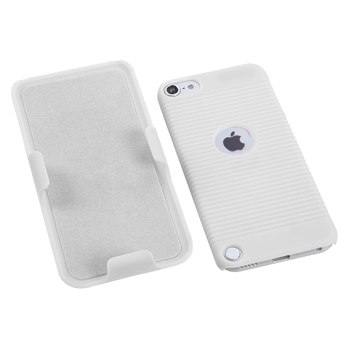For-Apple-iPod-Touch-5th-6th-Gen-Hard-Matte-Holster-Belt-Clip-2-Piece-Case-Cover miniature 15