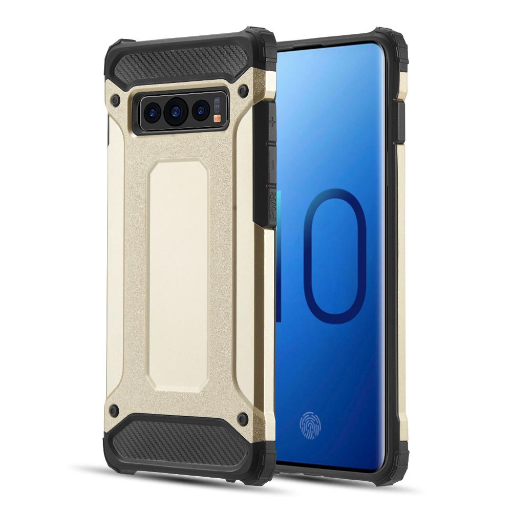 Samsung Galaxy S10 - Performance Dual Hybrid Tpu + Pc Case - Gold