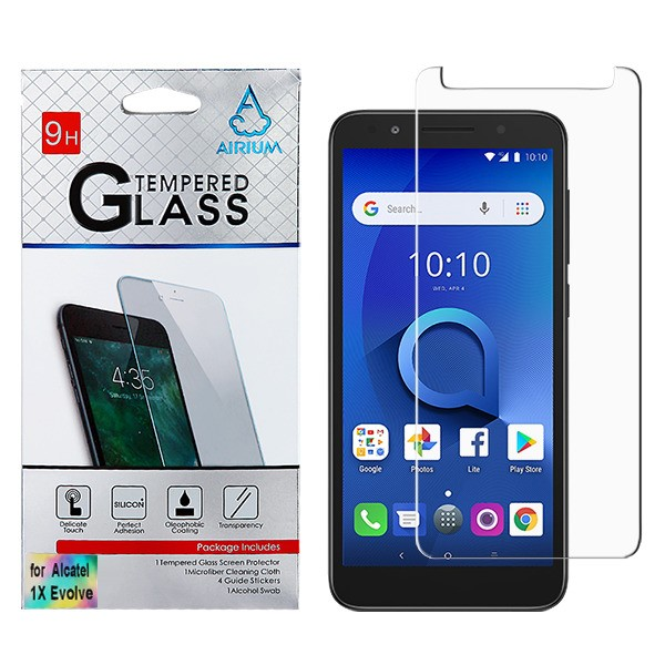 Alcatel TCL LX A502DL - Tempered Glass Screen Protector