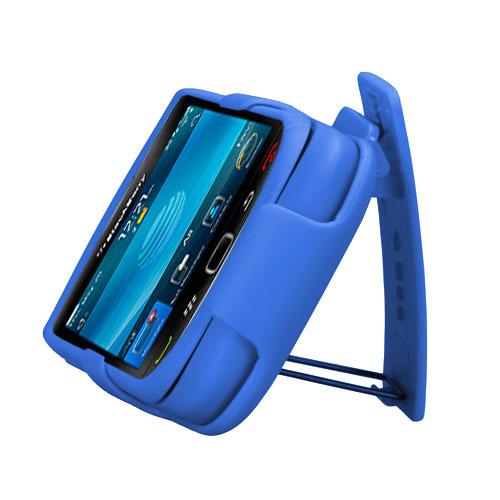 For-BlackBerry-Torch-9800-Hard-Matte-Holster-Belt-Clip-2-Piece-Case-Phone-Cover miniature 6