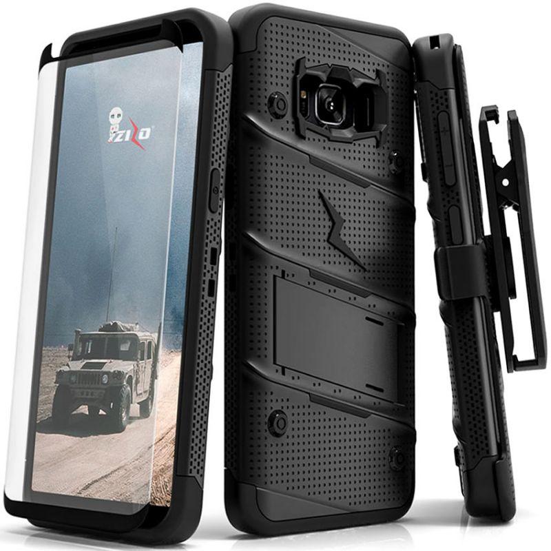 samsung galaxy s8 plus bolt case cover kickstand holster. Black Bedroom Furniture Sets. Home Design Ideas