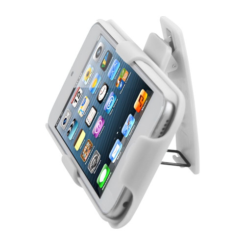 For-Apple-iPod-Touch-5th-6th-Gen-Hard-Matte-Holster-Belt-Clip-2-Piece-Case-Cover miniature 16