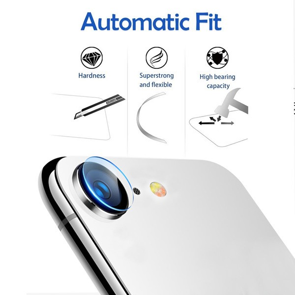 Tempered-Glass-Screen-Protector-Back-Camera-Rear-For-iPhone-XS-Max-XR-X-8-7-Plus thumbnail 4