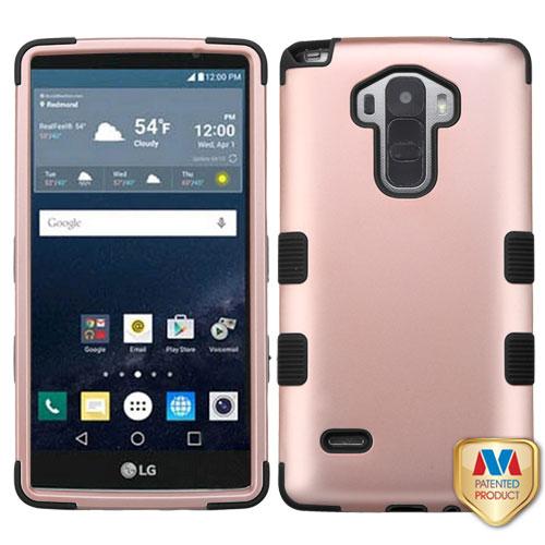 quality design 43d95 3a5cb LG G Vista 2 H740 Rose Gold/Black TUFF Hybrid Phone Case Cover