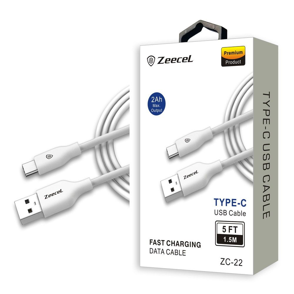 Universal Zeecel ZC22 COMPATIBLE TYPE-C USB FAST CHARGING CABLE ...