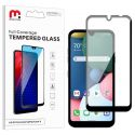 LG K31 Full Coverage Tempered Glass Screen Protector Black