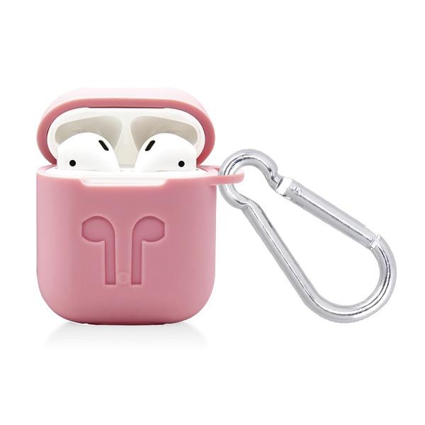 promo code 5e4c1 fa809 Apple Airpods Protective Case-Pink