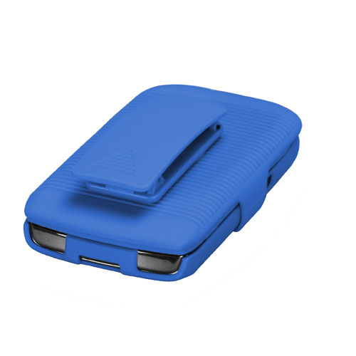 For-BlackBerry-Torch-9800-Hard-Matte-Holster-Belt-Clip-2-Piece-Case-Phone-Cover miniature 4