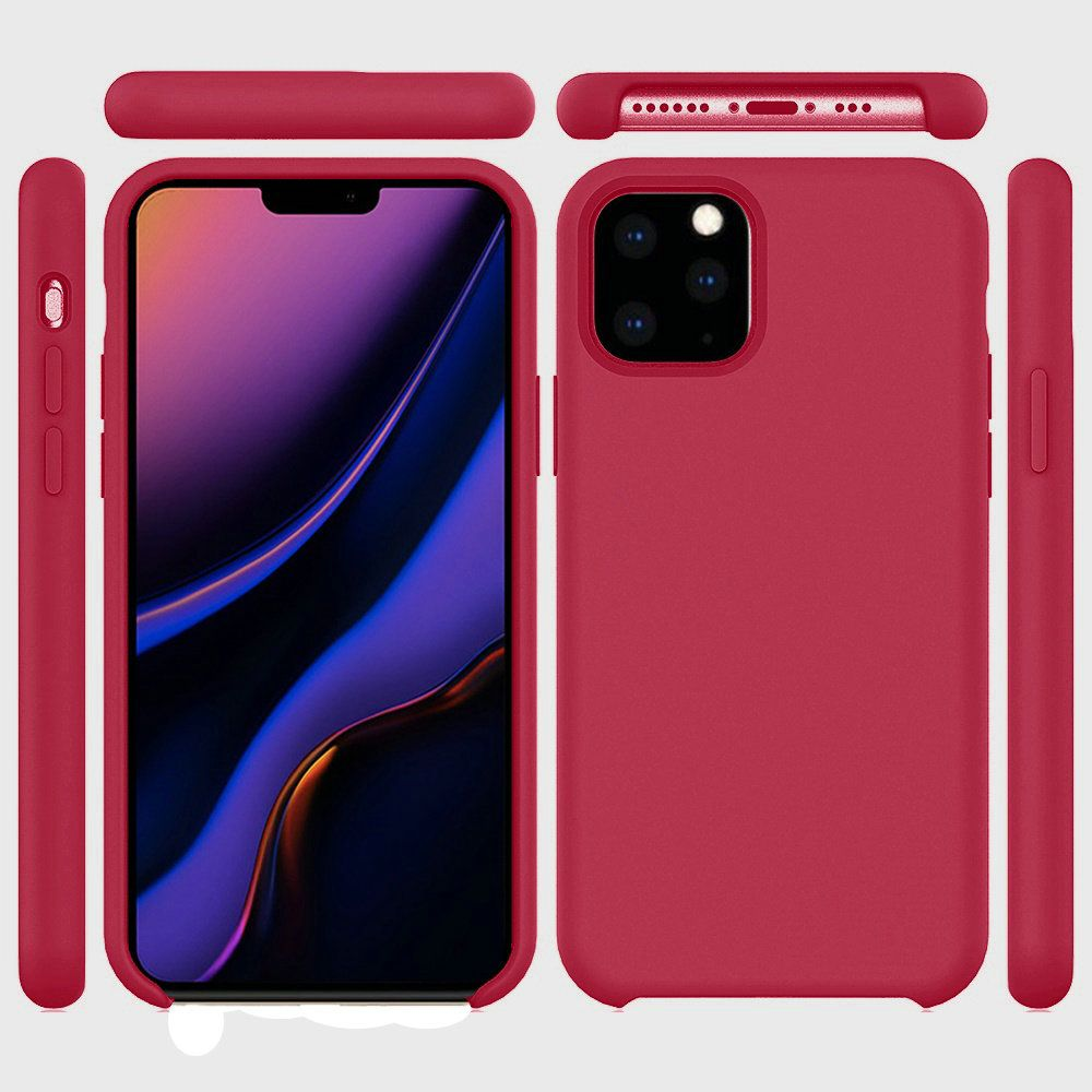 Apple Iphone 11 Pro Max Soft Silicone Protective Cover Case Rose Red Cellphonecases Com A quick unboxing of apple's new iphone 11 in red and my first impressions of the iphone 11 design in red. apple iphone 11 pro max soft silicone protective cover case rose red