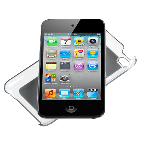 For-Apple-iPod-Touch-4th-Gen-Aluminum-Armor-Cosmo-Slim-Hard-Case-Phone-Cover miniatuur 5